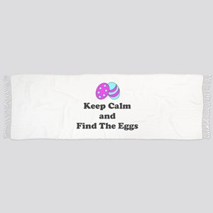 Easter Keep Calm And Find The Eggs Tassel Scarf