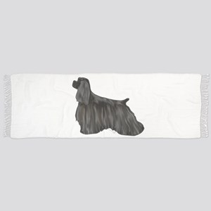 black american cocker spaniel Scarf