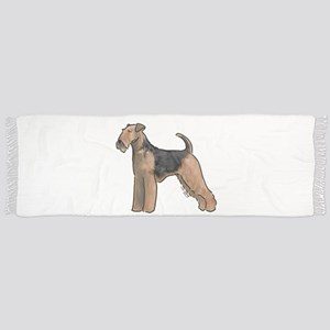 airdale terrier dog breed Scarf