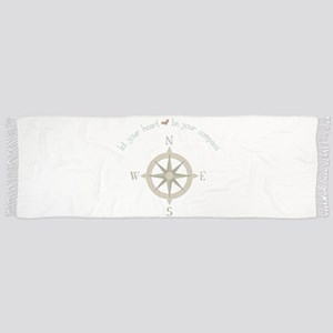 Heart Your Compass Scarf