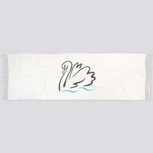 Swan Outline Scarf