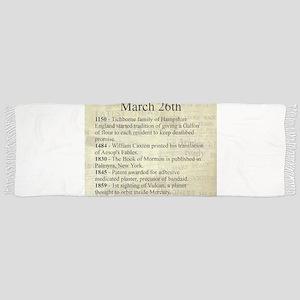 March 26th Scarf