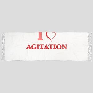 I Love Agitation Tassel Scarf