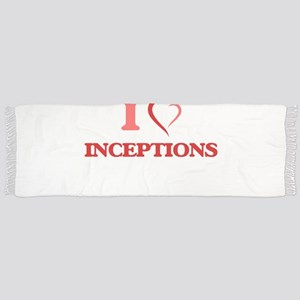 I Love Inceptions Tassel Scarf