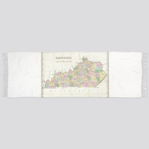 Vintage Map of Kentucky (1827) Scarf