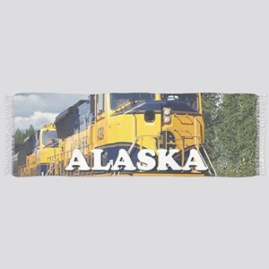 Alaska Railroad engine locomotive 2 Scarf