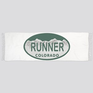 Runner Colo License Plate Scarf