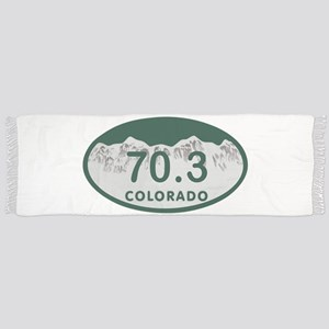 70.3 Colo License Plate Scarf