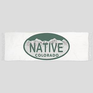 Native Colo License Plate Scarf