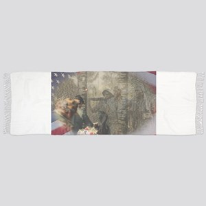 Vietnam Veterans Memorial Tassel Scarf