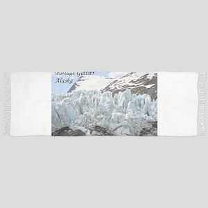 Portage Glacier, Alaska, USA (with caption) Scarf