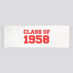 CLASS OF 1958-Fre red 300 Scarf