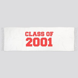CLASS OF 2001-Fre red 300 Scarf