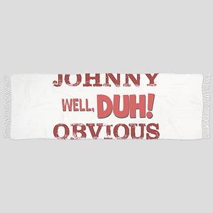 JOHNNY OBVIOUS Tassel Scarf