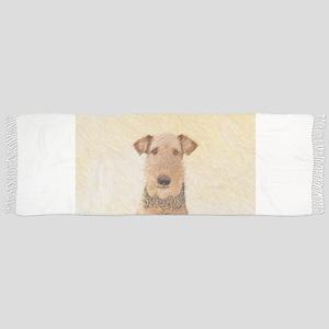 Airedale Terrier Tassel Scarf