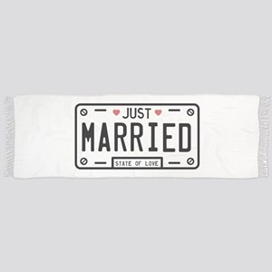 Just Married Scarf