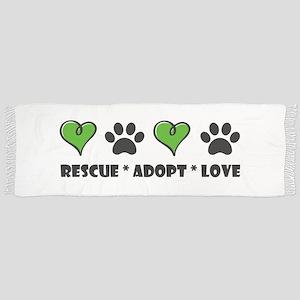 Rescue*Adopt*Love Scarf
