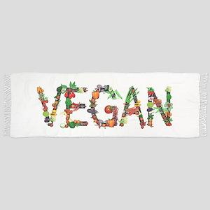 Vegan Vegetables Tassel Scarf