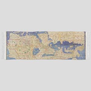 Al-Idrisi's world map, 1154 Scarf