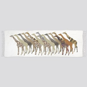 Lots of Giraffes Design 3 Scarf