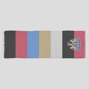 Newcastle United Stripe Scarf Tassel Scarf