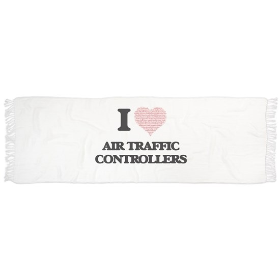 I love Air Traffic Controllers (Heart made from wo