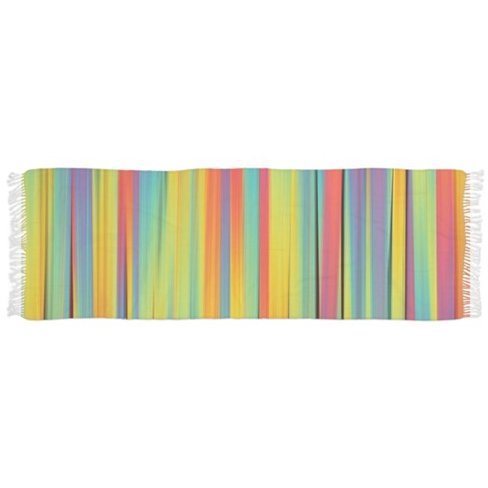 Abstract Colorful Decorative Striped Pattern