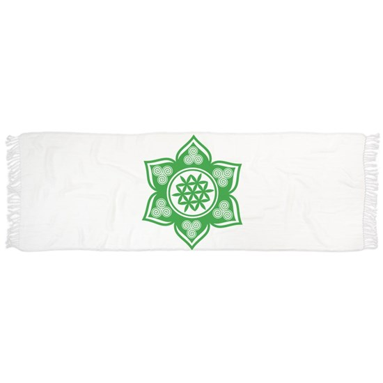 Triple Goddess Lotus Love Green