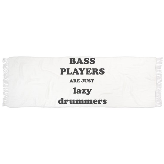 Bass Players Are Just Lazy Drummers