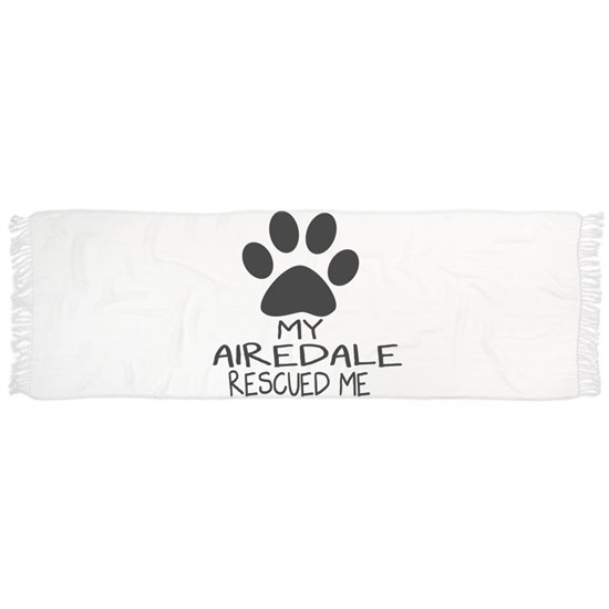 My Airedale Rescued Me