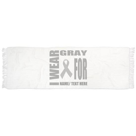 Gray Awareness Ribbon