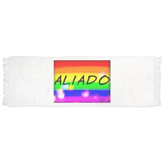 Aliado (ally) Spanish gay rainbow art