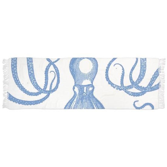 Antique Octopus in Light Blue