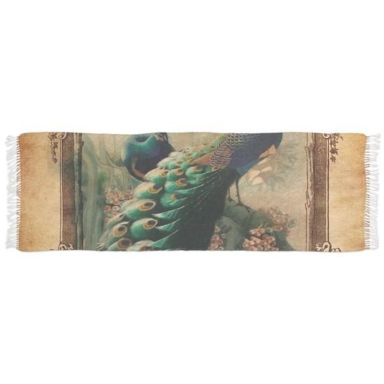 romantic paris vintage peacock
