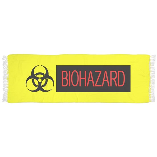 HAZMAT: Biohazard (Red, Black & Yellow)