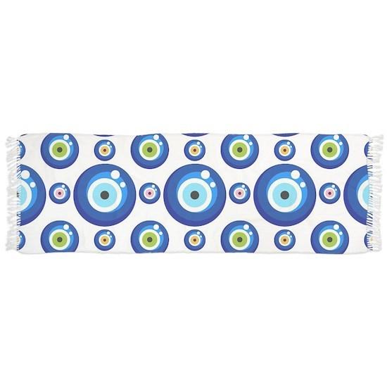 Evil eye protection pattern design