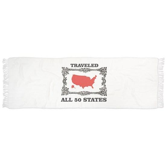 red traveled USA