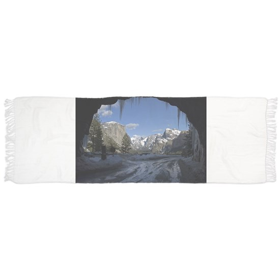 Yosemite's famous Tunnel View from the actual tunn