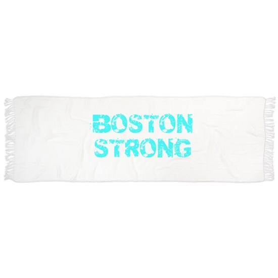 Support BOSTON STRONG Turquoise Grunge