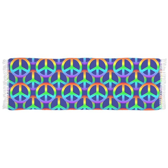 Rainbow Peace Sign Pattern