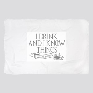 I drink and I know things Game of Thro Sheer Scarf