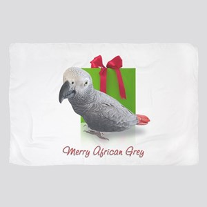 African Grey Holiday Scarf