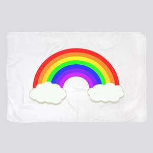 Rainbow in the clouds Scarf