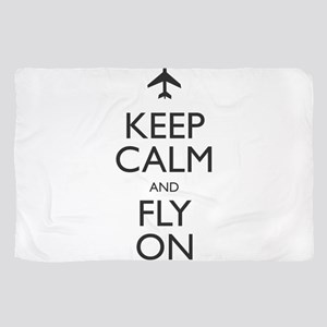 Keep Calm and Fly On Scarf