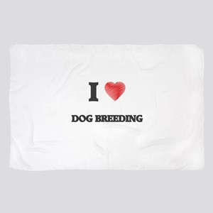 I Love Dog Breeding Scarf