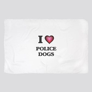 I love Police Dogs Scarf