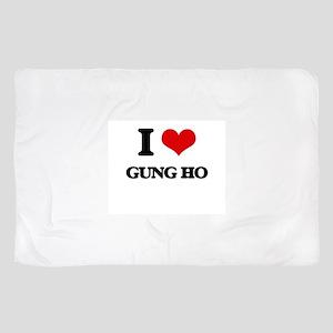I Love Gung Ho Scarf