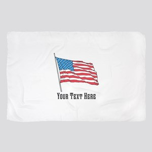 Custom US Flag Design Scarf
