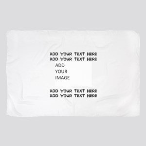 Custom Text and Image Sheer Scarf