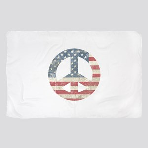 Vintage Peace In America Scarf